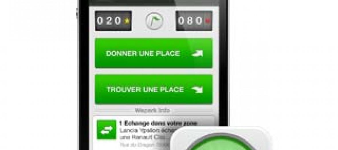 WePark application IPhone