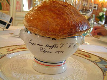 vote for the truffle soup by paul bocuse for valery giscard d estaing. Black Bedroom Furniture Sets. Home Design Ideas