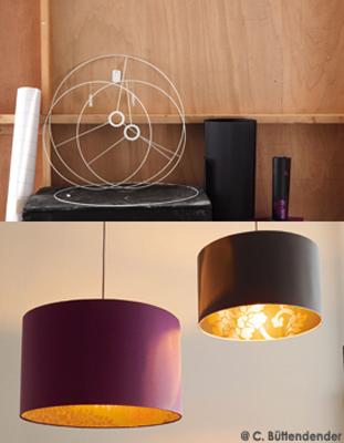 une astuce bricolo petit prix r aliser son propre abat jour sur une structure d abat jour que. Black Bedroom Furniture Sets. Home Design Ideas