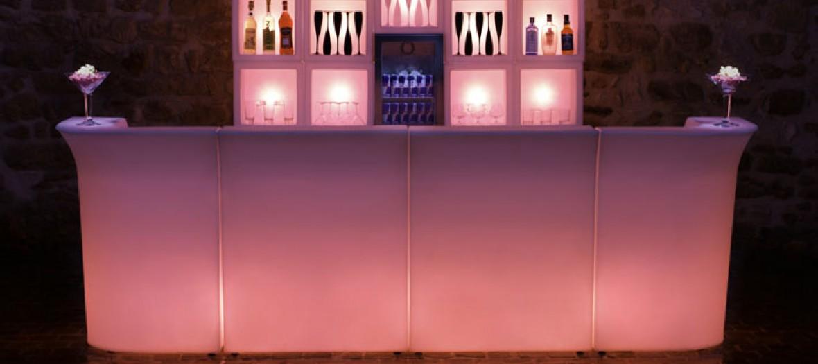 Светящаяся барная стойка своими руками