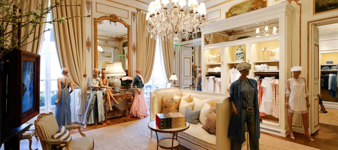 4c3020759aaf La nouvelle boutique Ralph Lauren à Saint Germain, à découvrir absolument !