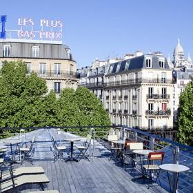 Brasserie barbes rooftop