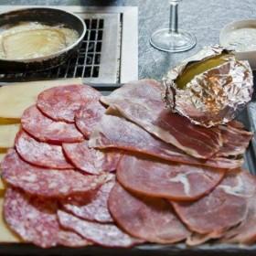 Fondus De Raclette, dish